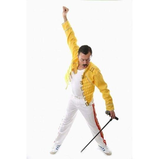 Ian Freddie Mercury Tribute Profile Pic Ntertain