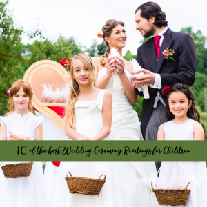 10 of the best Childrens Readings for Weddings ntertain featured image