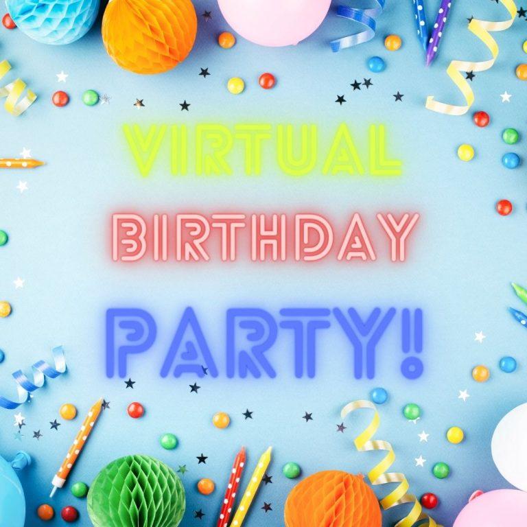 Kids Virtual Birthday Party
